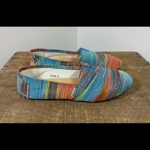 Corkys Casual Colorful Canvas Flats / Shoes